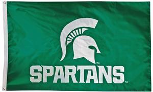 Collegiate Michigan State 2-Sided Nylon 3'x5' Flag