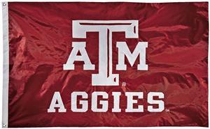 Collegiate Texas A&M 2-Sided Nylon 3'x5' Flag
