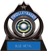 """Hasty Awards Eclipse 6"""" Saturn Volleyball Trophy"""