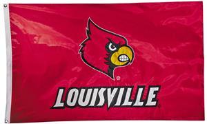 Collegiate Louisville 2-Sided Nylon 3'x5' Flag