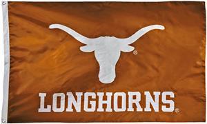 Collegiate Texas 2-Sided Nylon 3'x5' Flag