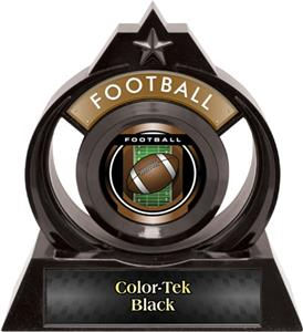 """Hasty Awards Eclipse 6"""" Legacy Football Trophy"""