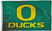Collegiate Oregon 2-Sided Nylon 3'x5' Flag