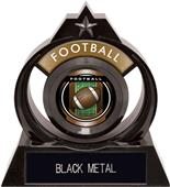 "Hasty Awards Eclipse 6"" Legacy Football Trophy"