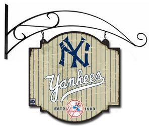 Winning Streak MLB Yankees Vintage Tavern Sign
