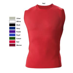 Badger B-Fit Sleeveless Crew Compression Shirts