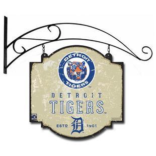 Winning Streak MLB Tigers Vintage Tavern Sign