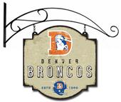 Winning Streak NFL Broncos Vintage Tavern Sign