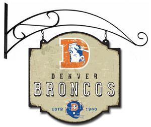 Winning Streak NFL Broncos Vintage Tavern Sign