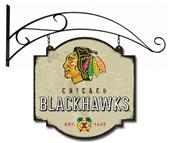 Winning Streak NHL Blackhawks Vintage Tavern Sign