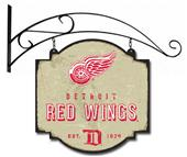 Winning Streak NHL Red Wings Vintage Tavern Sign