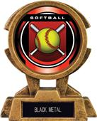"Hasty Awards 7"" Sky Tower Resin Softball Trophy"
