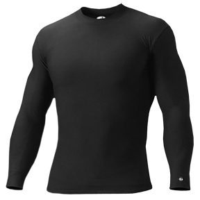 Badger B-Hot Long Sleeve Crew Performance Shirts