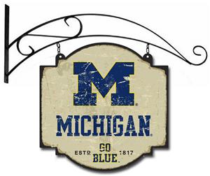 Winning Streak NCAA Michigan Vintage Tavern Sign