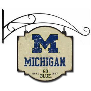 Winning Streak NCAA Michigan Vintage Tavern Sign
