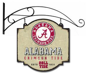 Winning Streak NCAA Alabama Vintage Tavern Sign
