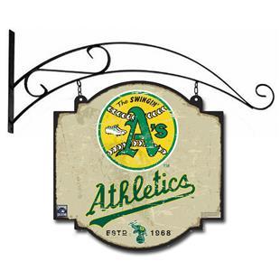 Winning Streak MLB Oakland Vintage Tavern Sign