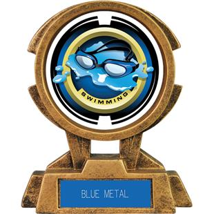 """Hasty Awards 7"""" Sky Tower Resin Swimming Trophy"""