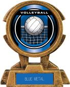 "Hasty Awards 7"" Sky Tower Resin Volleyball Trophy"