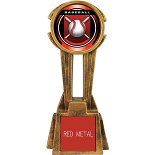 "Hasty Awards 14"" Sky Tower Resin Baseball Trophy"