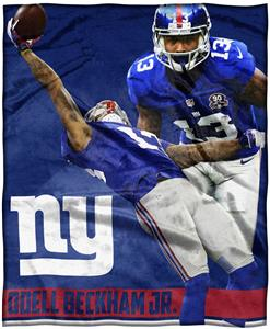 Northwest Giants Odell Beckham Jr Silk Touch Throw