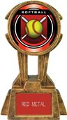 "Hasty Awards 10"" Sky Tower Resin Softball Trophy"