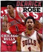 Northwest Bulls Derrick Rose Silk Touch Throw