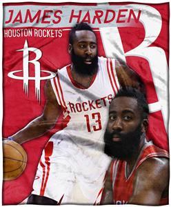Northwest Rockets James Harden Silk Touch Throw