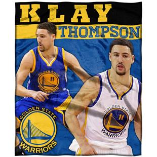 Northwest Warriors Klay Thompson Silk Touch Throw