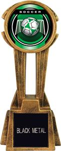 "Hasty Awards 14"" Sky Tower Resin Soccer Trophy"