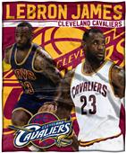 Northwest Cleveland Lebron James Silk Touch Throw