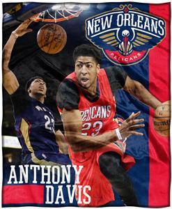 Northwest Pelicans Anthony Davis Silk Touch Throw