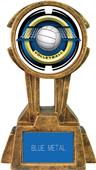 "Hasty Awards 10"" Sky Tower Resin Volleyball Trophy"