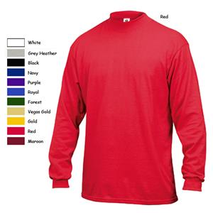 Badger Cotton Jersey Mock Neck Shirts