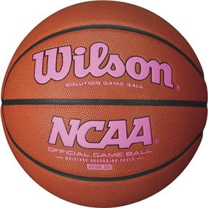 Wilson NCAA Official PINK Game Basketballs
