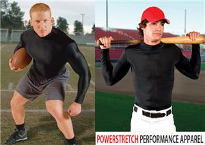 Eagle USA Powerstretch Compression Mock Shirt