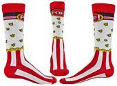 Wright Avenue Popcorn Novelty Cotton Crew Socks