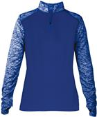 Badger Sport Ladies Sport Blend 1/4 Zip Jacket