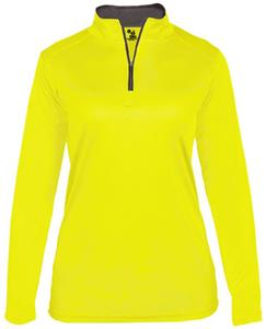 Badger Sport Ladies B-Core 1/4 Zip Shirt