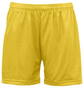 Badger Womens Mesh/Tricot 5&quot; Athletic Shorts