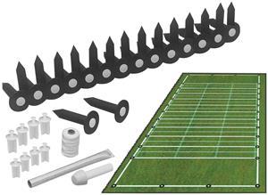 Complete Football Field Marking Installation Kit
