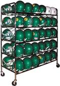 Athletic Specialties Heavy Football Helmet Cart