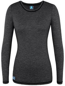 Adar Womens Junior Fit Long Sleeve Fitted Tee