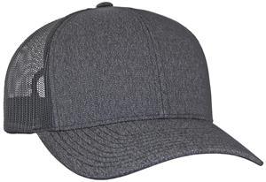 Pacific Headwear Heather Trucker Mesh Cap