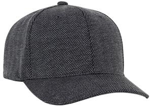 Pacific Headwear Herringbone Poly/Rayon Cap