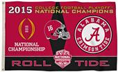 Collegiate Alabama CFP Champ 3' x 5' Flag