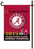 Collegiate Alabama CFP Champ 2-Sided Garden Flag