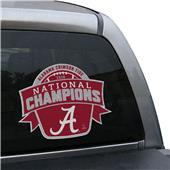 Collegiate Alabama CFP Champ Window Film