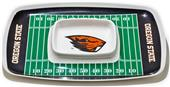 Collegiate Oregon State Chips & Dip Tray
