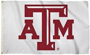 Collegiate Texas A&M 3' x 5' Flag w/Grommets